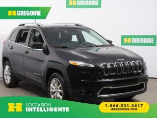 Used 2016 Jeep Cherokee LTD AWD CUIR TOIT for sale in St-Léonard, QC