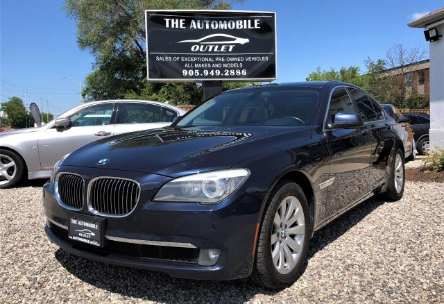 2010 BMW 750i 750i xDrive AWD FULLY LOADED NAVI NO ACCIDENT