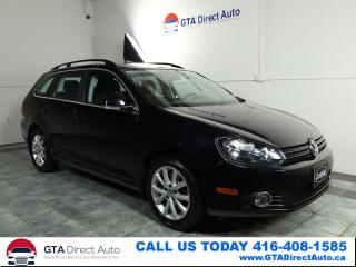 Used 2013 Volkswagen Golf Wagon Comfortline TDI Wagon 6-Speed Bluetooth Certified for sale in Toronto, ON