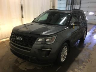 Used 2018 Ford Explorer SPORT for sale in Winnipeg, MB