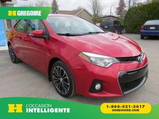 Used 2014 Toyota Corolla S MAN A/C MAGS CUIR for sale in St-Léonard, QC