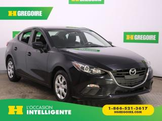 Used 2016 Mazda MAZDA3 GX A/C GR ÉLECT for sale in St-Léonard, QC