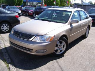 Used 2000 Toyota Avalon XLS,SUNROOF,KEY LESS,ALLOYS,ICE COLD A/C,LEATHER for sale in Kitchener, ON