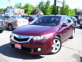 Used 2009 Acura TSX Tech Pkg,NAV,BLUETOOTH,BACKUP CAMERA,SUNROOF,FOGS for sale in Kitchener, ON