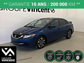 Used 2015 Honda Civic Ex Gar for sale in Shawinigan, QC