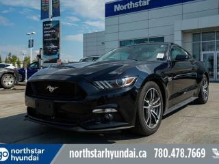 Used 2017 Ford Mustang GT MANUAL/PUSHBUTTONSTART/LOWKMS for sale in Edmonton, AB