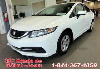 Used 2015 Honda Civic Berline  LX A/C Camera Sieges Chauffants for sale in St-Jean-Sur-Richelieu, QC