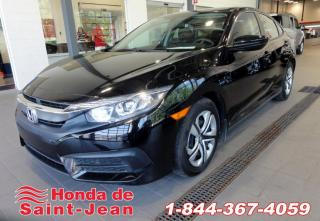 Used 2017 Honda Civic LX BERLINE CVT A/C Sieges Chauffants Cam for sale in St-Jean-Sur-Richelieu, QC
