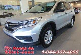 Used 2015 Honda CR-V LX Camera A/C Sieges Chauffants for sale in St-Jean-Sur-Richelieu, QC