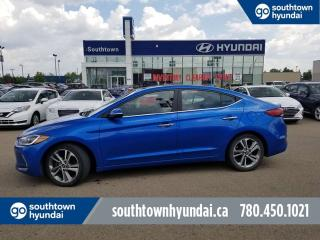 Used 2017 Hyundai Elantra LIMITED/LEATHER/BLIND SPOT DETECTION/BACK UP CAMERA for sale in Edmonton, AB