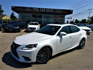 Used 2016 Lexus IS 300 NAV|SUNROOF|LEATHER|MEMRY&HEATED SEATS|CERTIFIED! for sale in Mississauga, ON