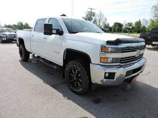 Used 2015 Chevrolet Silverado 2500 LT. Crew. 4X4. Seats 6. Loaded for sale in Gorrie, ON
