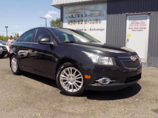 Used 2012 Chevrolet Cruze ***ECO,AIR CLIM,MAGS GROUPES ELECTRIQUE* for sale in Longueuil, QC