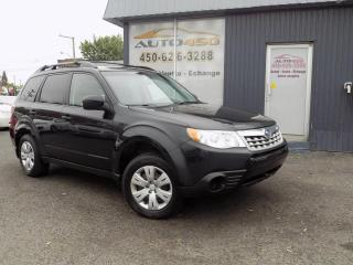 Used 2011 Subaru Forester ***4X4,AWD,AUTOMATIQUE,AIR CLIM*** for sale in Longueuil, QC