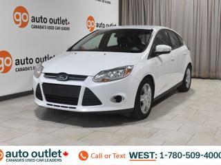 Used 2014 Ford Focus FWD, SE, POWER WINDOWS, STEERING WHEEL CONTROLS, CRUISE CONTROL, A/C, AM/FM RADIO, BLUETOOTH for sale in Edmonton, AB