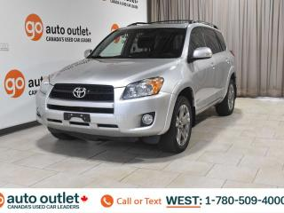 Used 2010 Toyota RAV4 SPORT, 4WD, POWER WINDOWS, CRUISE CONTROL, AM/FM RADIO, SATELLITE RADIO, A/C for sale in Edmonton, AB