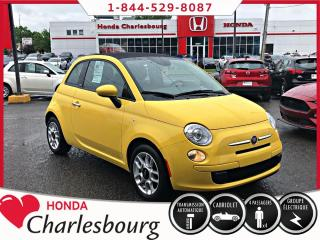 Used 2014 Fiat 500 C **Décapotable**29 038 KM** for sale in Charlesbourg, QC
