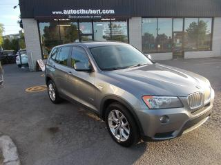 Used 2011 BMW X3 28i XDrive for sale in St-Hubert, QC