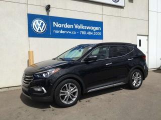 Used 2017 Hyundai Santa Fe Sport LIMITED AWD - LEATHER / SUNROOF / LOADED for sale in Edmonton, AB