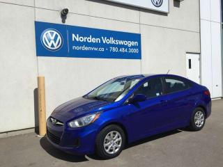 Used 2013 Hyundai Accent GL AUTO - HEATED SEATS / PWR OPTIONS for sale in Edmonton, AB