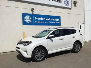 Used 2017 Toyota RAV4 LIMITED AWD - LEATHER / SUNROOF! for sale in Edmonton, AB