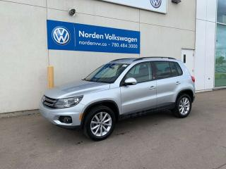 Used 2017 Volkswagen Tiguan WOLFSBURG EDITION 4MOTION AWD - LEATHER HEATED SEATS / VW CERTIFIED for sale in Edmonton, AB
