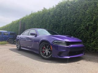 Used 2016 Dodge Charger SRT + TECHNOLOGY PACKAGE + SUNROOF + HEATED/VENT FT SEATS + NAVI + NO EXTRA DEALER FEES for sale in Surrey, BC