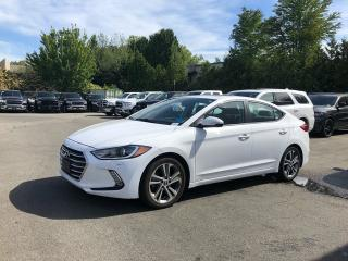 Used 2017 Hyundai Elantra GLS + HEATED FT SEATS + HEATED STEERING WHEEL + BACK-UP CAMERA + SUNROOF + BLIND-SPOT MONITORING SYSTEM + NO EXTRA DEALER FEES for sale in Surrey, BC