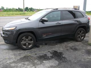 Used 2017 Jeep Cherokee 75th   4x4  VERY VERY NICE for sale in Fonthill, ON