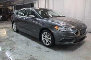 Used 2017 Ford Fusion SE (HYBRIDE, BAS KILO !!) for sale in St-Constant, QC