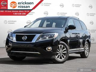 Used 2014 Nissan Pathfinder SL LEATHER NAVIGATION for sale in Edmonton, AB