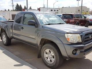 Used 2009 Toyota Tacoma 4x4 ACCESS CAB GREAT TOYOTA TRUCK! for sale in Edmonton, AB