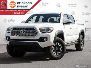 Used 2017 Toyota Tacoma TRD Off Road 4x4 Double Cab LOW KMS! for sale in Edmonton, AB