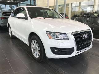 Used 2012 Audi Q5 Q5, POWER HEATED LEATHER SEATS, SKYROOF, SATELLITE RADIO for sale in Edmonton, AB