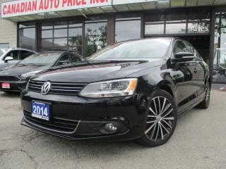 Used 2014 Volkswagen Jetta TDI Highline-LEATHER-ROOF-BLUETOOTH-HEATED for sale in Scarborough, ON