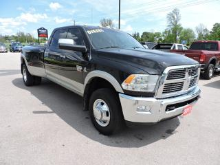 Used 2011 RAM 3500 Laramie. Diesel. 4X4. Leather. Navigation. Loaded for sale in Gorrie, ON
