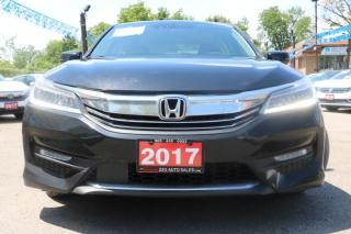 Used 2017 Honda Accord Touring Accident Free for sale in Brampton, ON