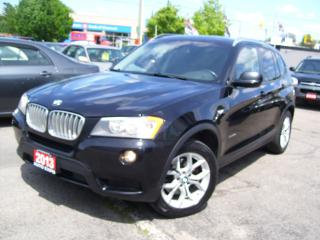 Used 2013 BMW X3 X Drive28i,Bluetooth,Leather,Tinted,Certified,Fogs for sale in Kitchener, ON