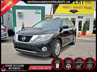 Used 2015 Nissan Pathfinder SV AWD/4X4 CAMERA + PUSH TO START + HITC for sale in Blainville, QC