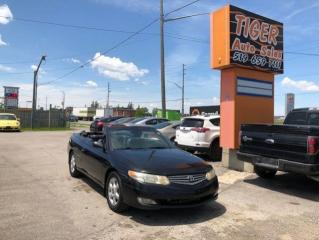 Used 2003 Toyota Camry Solara SLE**CONVERTIBLE**LEATHER**AUTO**AS IS SPECIAL for sale in London, ON
