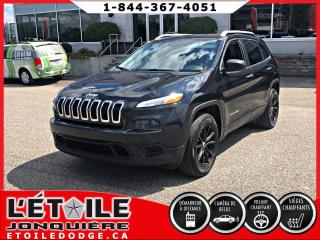 Used 2015 Jeep Cherokee SPORT 4X4, DEMARREUR A DISTANCE, ECRAN for sale in Jonquière, QC