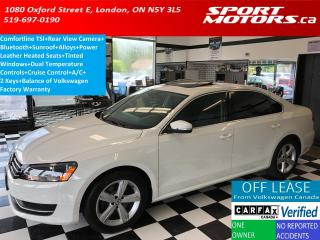Used 2015 Volkswagen Passat COMFORTLINE+Camera+Sunroof+Leather Heated Seats+XM for sale in London, ON