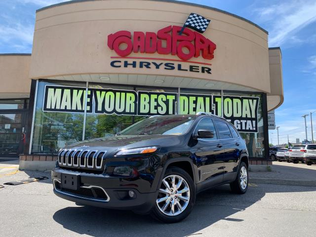 2014 Jeep Cherokee Limited+NAV+LEATHER+LOADED