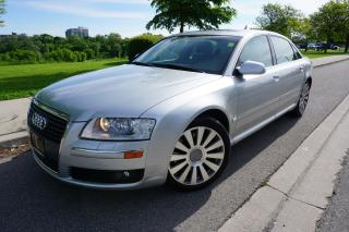 Used 2007 Audi A8 LONG WHEEL BASE / LOW KM'S / ONTARIO CAR for sale in Etobicoke, ON