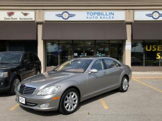 Used 2007 Mercedes-Benz S-Class Navi, Night Vision, Only 64K kms for sale in Vaughan, ON