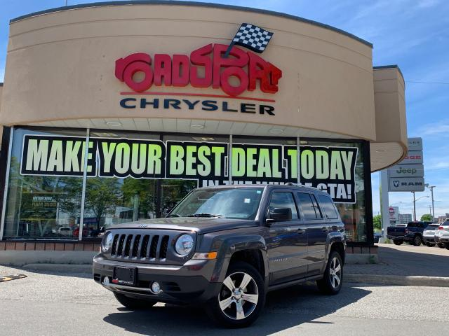 2016 Jeep Patriot High Altitude+LEATHER+NAV+SUNROOF+4X4+MORE