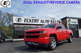 Used 2017 Chevrolet Silverado 1500 Custom/DUAL EXHAUST/4X4 for sale in Barrie, ON