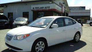 Used 2010 Hyundai Elantra Berline 4 portes, boîte manuelle, L for sale in Sherbrooke, QC