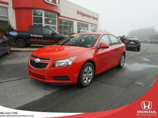Used 2014 Chevrolet Cruze 1LT - Turbo for sale in Bridgewater, NS