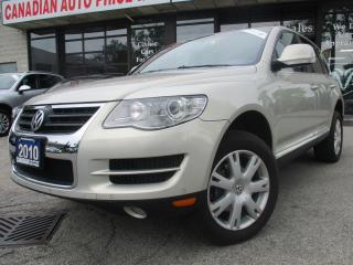 Used 2010 Volkswagen Touareg TDI Highline-AWD-NAVI-LTHER-CAMERA-ROOF-BLUET for sale in Scarborough, ON
